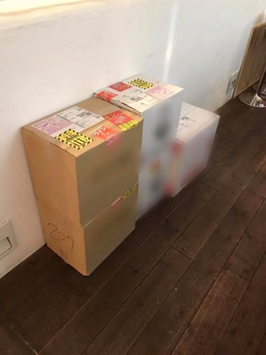 「StVincent八王子 2018 秋」用のワインが到着しました。